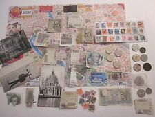COINS STAMPS MAGNET CARDS TOKENS BOOK MARK MONEY 72 ITALIAN COLLECTIBLES  #902