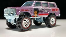 Hot Wheels Star Trek Lt. Uhura 1988 Jeep Wagoneer 4x4 Lifted Real Riders Solid