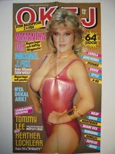 Samantha Fox Magazine Advertising Poster Billboard Sweden 1980s