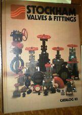 STOCKHAM Valves Fittings Catalog BLUE ASBESTOS J-M 1983