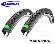 "Schwalbe Marathon Tour, black-reflex, MTB 28 ""PNEUMATICO-proteggere.40,700 x35c - 2 PNEUMATICI"