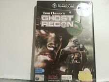 Tom Clancy'S Ghost Recon Nintendo Gamecube Brand New Pal game