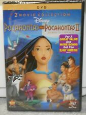 Pocahontas 2-Movie Collection (DVD, 2012, 2-Disc Set) RARE BRAND NEW