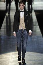 Dsquared² Runway RED MAPLE LEAF Jeans 46 IT FW/09-10 71LA278 MadeInIta 475€ RARE