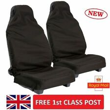 Waterproof Universal Car Seat Cover Heavy Duty Van Car Front Seat Protectors Set