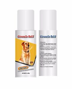 Two Citronella Training No Bark Canisters - 6.2 ounces, Refill Value Pack
