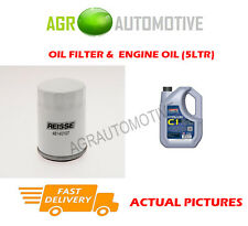 PETROL OIL FILTER + C1 5W30 ENGINE OIL FOR VOLVO V50 1.8 125 BHP 2004-10