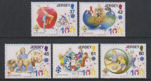 Jersey - 2010, Girl Guide Association set - MNH - SG 1476/80