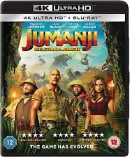 Jumanji - Welcome to the Jungle (4K Ultra HD + Blu-ray) - EXCELLENT Condition