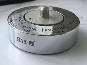 BAA Heathrow Airport Branded Paperweight *RARE/Airline/Airplane*