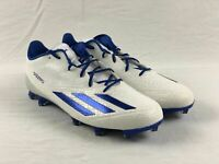 NEW adidas Adizero 5-Star 5.0 - White/Blue Cleats (Men's 11.5)