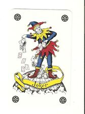 Vintage Collectable Tossing  Playing Card Single Joker Playing Card