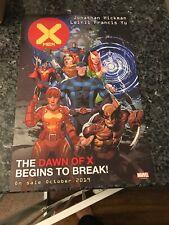 X-MEN #1 RARE NEW YORK COMIC CON PROMOTIONAL POSTER FEW CREASES!!