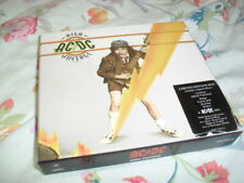 AC/DC -HIGH VOLTAGE- VERY HARD TO FIND LTD EDITION FAN BOX SET CD SET STICKERS +
