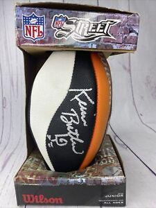 Kevin Butler Signed Football NFL Street Wilson Junior Autographed