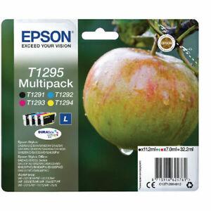 Genuine epson T1295 Apple multipack ink cartridges b42wd