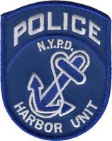NEW YORK CITY POLICE DEPARTMENT SHOULDER PATCH: Harbor Unit