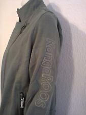 KANGAROOS Sweatjacke Sweatshirt Bikerstyle Übergangsjacke Khaki Gr.42  UVP 49,90