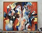 Original Painting by Michael Wright assistant to Willem De kooning