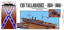 FLAGSHIP MODELS 1/192 scale CSS TALLAHASSEE BLOCKADE RUNNER (14 inches long)