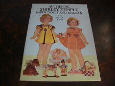 Shirley Temple-Paper Dolls-Dover-1991-9x12