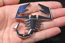 Abarth Scorpion Logo 3D Metal Car Auto SUV Badge Emblem Decal Sticker for Fiat
