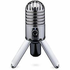 Samson Meteor SAMTR Condenser Studio USB Microphone with Cable and Pouch