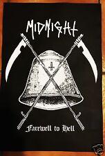 MIDNIGHT POSTER toxic holocaust inepsy venom boulder patch shirt black metal