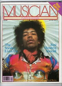 MUSICIAN Magazine # 27 (Oct 1980) Jimi Hendrix, Peter Gabriel, Charlie Christian