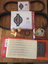 Ezgo Golf Cart TXT Tune Up Kit Drive & Starter Belt Air,Gas,Oil Filter & Plugs