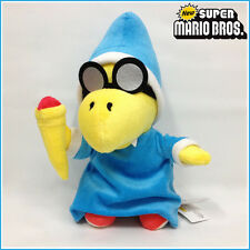 New Super Mario Bros. Plush Magikoopa Kamek Soft Toy Stuffed Animal Doll 7""