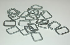 "WWII German  Steel ""D"" rings 3/4 Rectangle for ""Y"" straps etc Perfect for repair"
