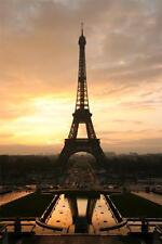 "PARIS_EIFFEL_TOWER. Picture on Modern Box-Canvas.20""x14"""