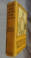 GET-RICH-QUICK WALLINGFORD by George Randolph Chester 1908 hardcover illustrated