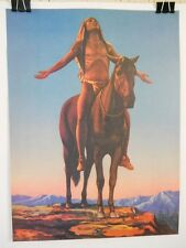 """""""Appeal to the Great Spirit"""" c1921 Repo Print of Painting/Sculpture by C. Dallin"""