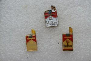 Zigaretten Pin++ 3 verschiedene Marlboro Schachteln++Sammlung++