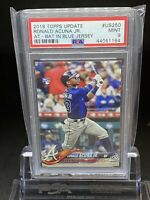 🔥2018 Topps Update RONALD ACUNA JR #US250 PSA 9 RC Rookie Braves🔥