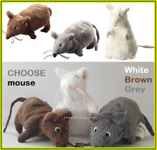 Ikea Gosig Mouse Mice Soft cuddly Toy White Brown Grey NEW - IN STOCK post today
