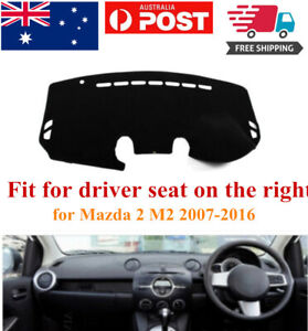 RHD Dash Mat Dash Cover Dashboard No Slips For Mazda 2 M2 2007-2016