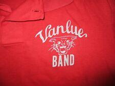 Vintage 70s 80s Vanlue Bande Polo Village Petit Ville Ohio École King Louie Sm