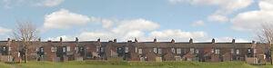 Terrace Houses OO gauge Backscene (15''x10') – Art Printers ID401