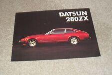 DATSUN/NISSAN 280ZX-Original 280 ZX brochure 1981