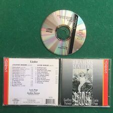 1 CD Musica BRAHMS MAHLER - LIEDER Lucia Popp Geoffrey Parsons (1997) Made EEC