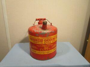 Vintage Eagle 2 Gallon Metal Gas Can
