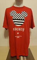 Disney Collection By Neff Men's Mickey Mouse T-Shirt, Color: Red, Size: Large