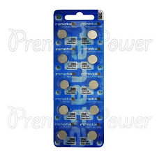 10 x Renata 395 Silver oxide batteries 1.55V SR927W SR57 399 Watch 0% Mercury