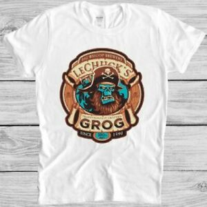 Grog T Shirt Ghost Pirate Monkey Island Lechuck's Brewery Cool Gift Tee M118