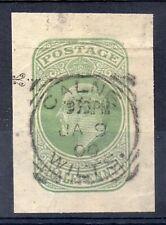 GB = POSTMARK - E7 era, `CALNE / WILTSHIRE` 1906 Squared Circle. 1/2d Stationary