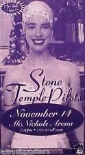 """STONE TEMPLE PILOTS 1996 """"VATICAN GIFT SHOP TOUR"""" DENVER CONCERT POSTER"""