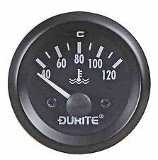 Agua Temperatura Válvula Durite 12v 52mm ILUMINADO REGULADOR wtd120a